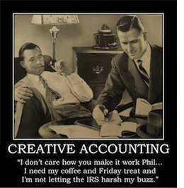 Creative Accounting Thank You Meme