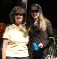 Robyn Norgan wine tasting in Napa - Mother's Day