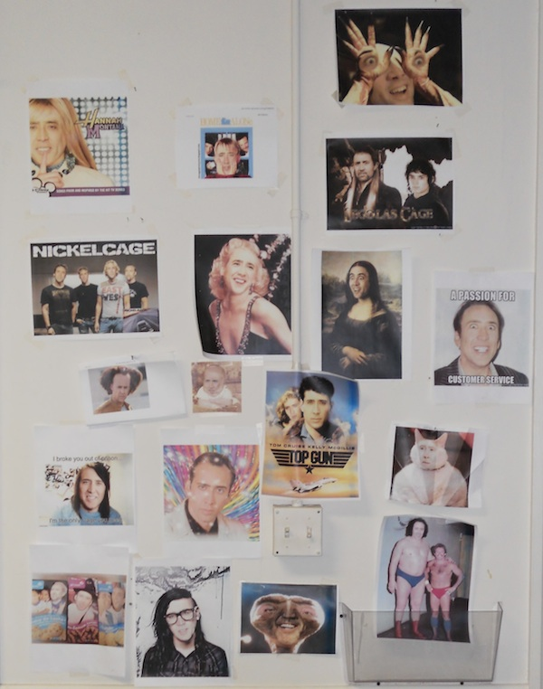 Nic Cage's Face on Things Wall Dynadot