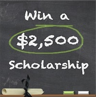 $2,500 College Scholarship Contest for High School & College Students