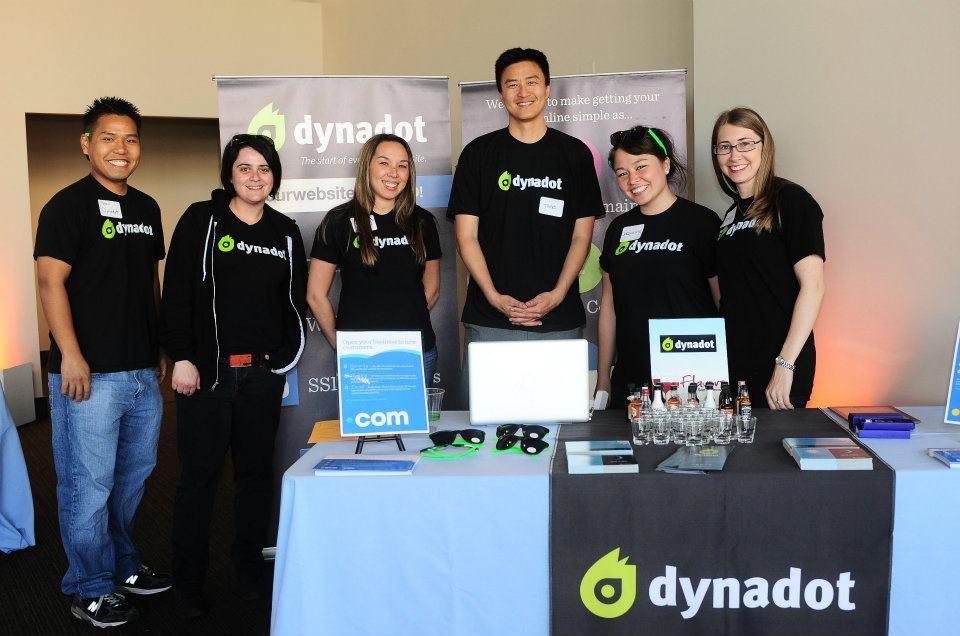 Robyn Norgan & Team Dynadot sponsoring SF Small Business Week Event