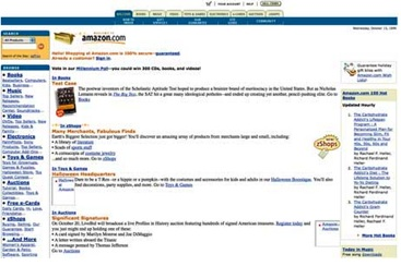 Amazon Website 1995
