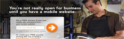 Dudamobile Mobile Website Service