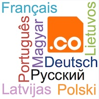 .CO International Domain Name New Languages - Register .CO IDNs