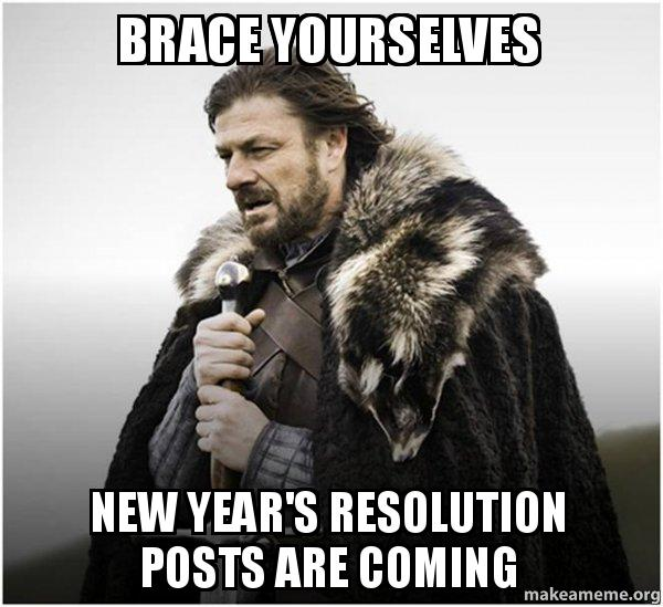 New Year's Resolutions Meme - Game of Thrones