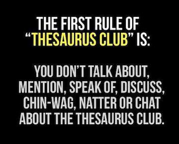 Domain Registration Tips - Find a Domain Using a Thesaurus on Thesaurus Day