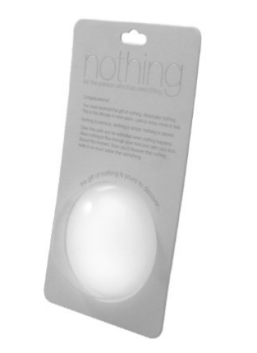 National Nothing Day - Gag Gift of Nothing