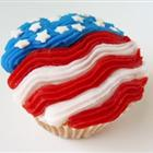 4 july star cupcakes