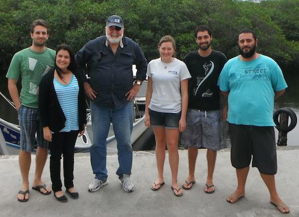 Dr. Murray Brown, Marine Data Literacy Students
