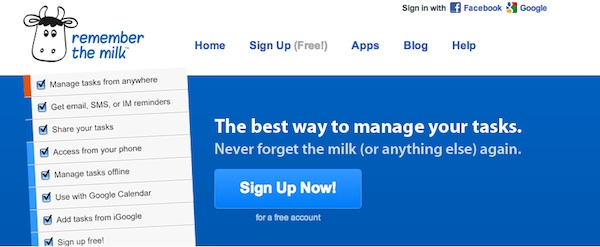 5 Websites to Help You Manage Your Time - Remember The Milk