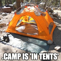 Donuts' New TLDs Launch: .CAMP is 'in Tents' Pun