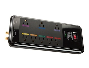 Surge protector power bar
