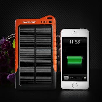 Portable power supply and an iPhone