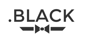 .BLACK Domain Logo