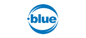 .BLUE Domain Logo