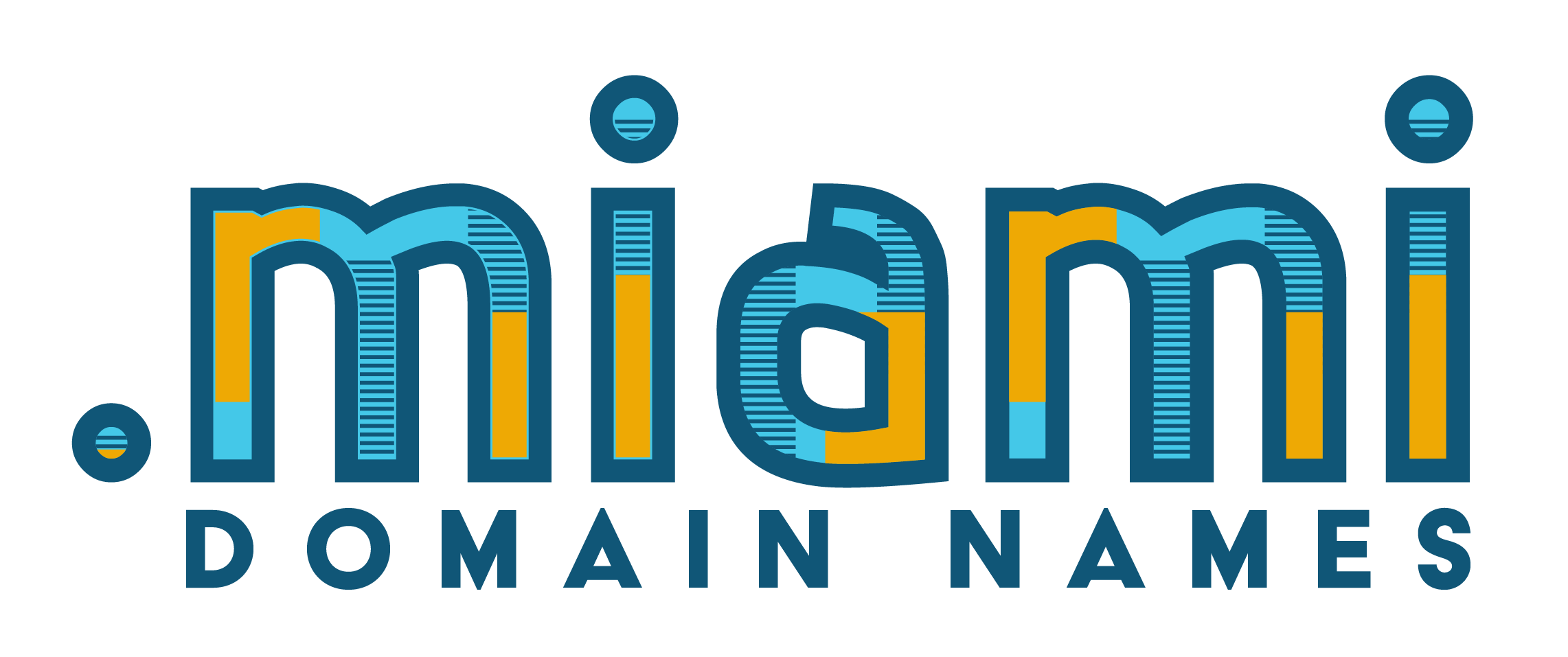 .MIAMI Domain Logo