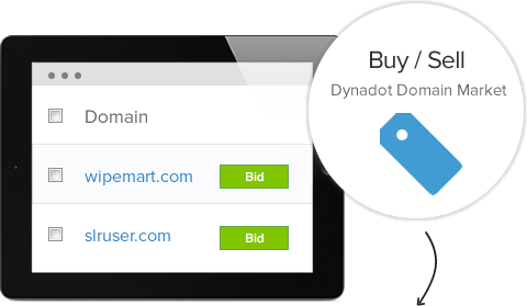 Dynadot Domain Market - Buy, Sell, & Bid on Domains