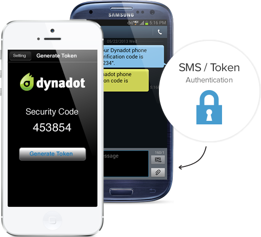 Domain Security Two Factor Authentication from Dynadot